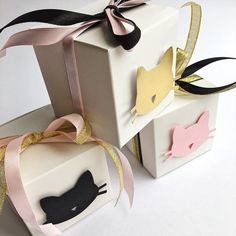 Excited to share the latest addition to my shop: Cat Favor Boxes Black Gold Pink Cat Girl Birthday Party Decorations Kitten Meow Birthday Bachelorette Decorations Candy Box Set of 12 Bachelorette Decorations, Girl Birthday Decorations, Girl Birthday Themes, Cat Birthday, Paper Party Decorations, Happy Birthday, Kitten Party, Cat Party, Black Gold Party