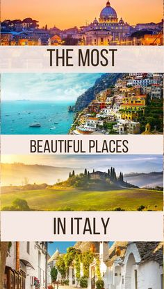 Best Places In Italy, Best Of Italy, Cities In Italy, Must See Italy, Visit Italy, Beautiful Places To Visit, Cool Places To Visit, Places To Travel, Italy Holiday Destinations