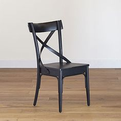 Black French Bistro Side Chair Set Of 2