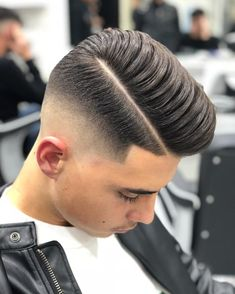 How To Get The Perfect Side Parting: 19 Best Side Part Haircuts haircut parts styles - Haircut Style Haircut Parts, Side Part Haircut, Haircut Style, Popular Haircuts, Cool Haircuts, Haircuts For Men, Classic Hairstyles, Hairstyles Haircuts, Short Hair Cuts