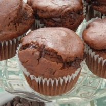 Gluten Free Recipe for Double chocolate muffins