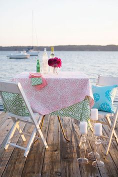 Hen House Linen Tablecloths and Runners Linen Tablecloth, Outdoor Dining, Outdoor Decor, Vintage Caravans, Beach Cottage Style, Sewing Baskets, Hen House, Kitchen Linens