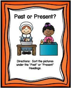 PAST OR PRESENT SORTING CENTER FREEBIE SOCIAL STUDIES SORT - TeachersPayTeachers.com