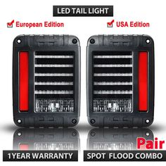 Cheap light for, Buy Quality tail light directly from China led tail light Suppliers: LED Reverse Brake Taillights , tail led light For Jeep Wrangler CJ JK TJ Replacement Tail Light 2007 Jeep Wrangler, Wrangler Rubicon, Jeep Jk, Jeep Wranglers, Led Tail Lights, Car Lights, 12v Led, Stop Light, Car Accessories