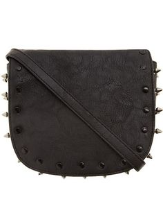 Black stud crossbody bag- perfect for going out