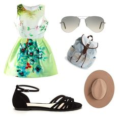 """""""A Day in the Park"""" by cassiebaker-1 on Polyvore featuring Ray-Ban, Aéropostale and Satya Twena"""