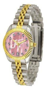 Creighton University Bluejays NCAA Womens Executive Mother-Of-Pearl Watch SunTime. $149.95