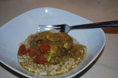 Curry Chicken with Couscous
