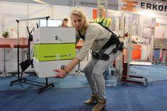Laevo exoskeleton. Supports you