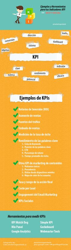 Qué es un KPI en Marketing » Ejemplos de indicadores SEO y Social via @marketingandweb