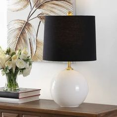 Table Lamps | Find Great Lamps & Lamp Shades Deals Shopping at Overstock Blue Table Lamp, Drum Table, Metal Table Lamps, Gold Table, Glass Table, Farmhouse Table Lamps, Paint Shades, Lamp Shades, Lamp Shade Store