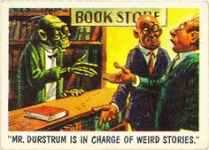 You'll Die Laughing: MAD artist Jack Davis' wonderfully funny horror trading cards | Dangerous Minds