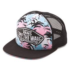 Palm Camo Beach Girl Trucker Hat