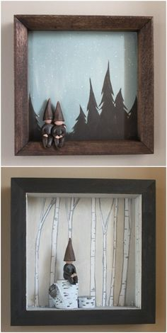 For the little girls - scenery changes and little dolls. Hang on the wall so it doesn't take up floor space.
