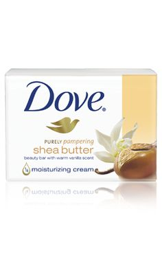 Dove with  Shea Butter Beauty Bar With Warm Vanilla is one of 2 soaps I'll use. None other!