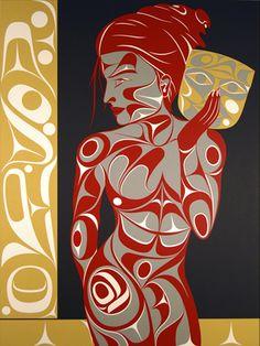 A Spirit Within  Rande Cook  Northwest Coast (Kwakwaka'wakw)
