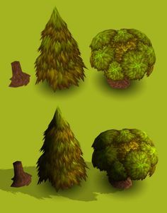 3ds max low poly pine tutorial - Google Search