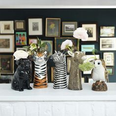 Ceramic Animal Flower Vases - New For Summer - Home Decoration - Home Accessories