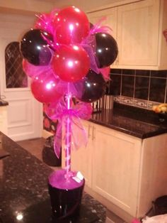 Non Helium Balloon Trees This Is Very Cute Sophie