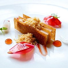Best Restaurants in New York   Try Foie Gras Terrine at Three Michelin Star Restaurant, Eleven Madison Park in NYC while you take in views of picturesque Madison Square Park from the Met Life Building.