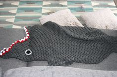 Crochet Shark Pattern Eaten A Shark The Pattern Finally Off The Hook For You Crochet Shark Pattern Small Shark Crochet Applique Pattern Kerris Crochet. Diy Crochet Cat, Crochet Cocoon, Crochet For Kids, Crochet Baby, Knit Crochet, Finger Crochet, Crochet Things, Chrochet, Mermaid Tail Pattern