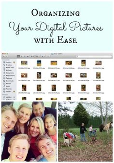What's the Best Way to Organize Digital Pictures? Can you find any picture at a moment's notice? Does the idea of putting together a photo album as a gift leave you overwhelmed? Learn How to Organize your Digital Pictures with Ease