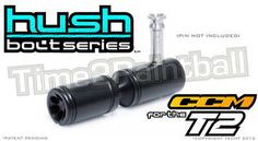 Bolts 47236: Techt Hush Bolt Ccm T2 **Free Shipping** Tournament Pump Marker Delrin Paintball -> BUY IT NOW ONLY: $44.95 on eBay!