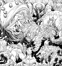 Creatures Panel from INVINCIBLE 107 by RyanOttley.deviantart.com on @deviantART
