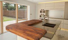 Modern Kitchen Design, Kitchen Designs, Corner Desk, Sweet Home, Contemporary, Bathroom Designs, Inspiration, Furniture, Inspired