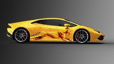 Lamborghini cheetah photoshop textura majestic