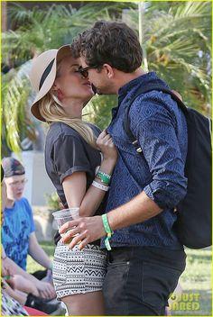 Joshua Jackson & Diane Kruger: H Coachella Event!