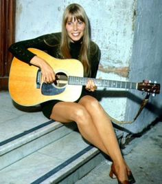 Joni Mitchell...very young here... and we were at every concert she gave on east coast... she had great following in NY