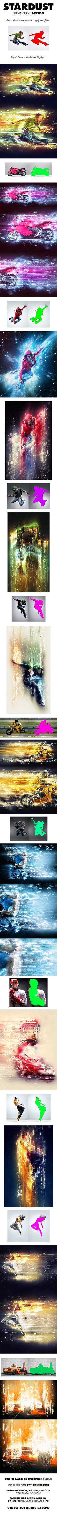 StarDust Photoshop Action | GraphicRiver