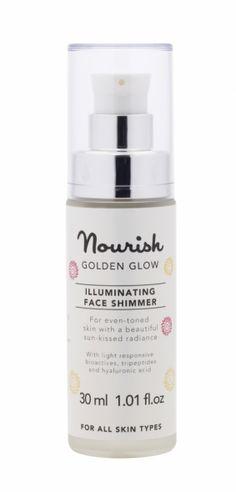 Creme iluminador para o rosto Golden Glow #cosmeticabiologica #organiccosmetics