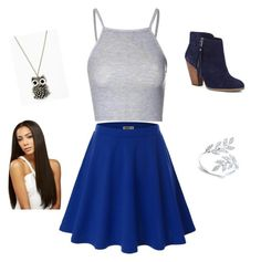 """Simple outfit"" by livliv-xoxo on Polyvore featuring Doublju, Glamorous and Sole Society"