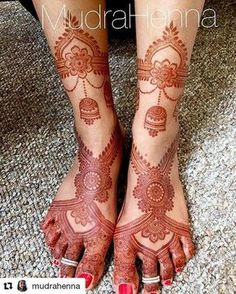 #follow@hennafamily #hennafamily #Repost @mudrahenna No filter 2 day stain pic of the design from the previous post! I did add in the part around the ankles after I took the last pic!! . . . . . . . . #henna #mehndi #mehendi #henntattoo #hennaartist #mudrahenna #indianwedding #indianbride #desi #desiwedding #desibride #shaadi #art #hennastain #flowers #tattoo #mudrahenna #mehndiartist #mehendiartist #mehendiart #wedding #indian #indianculture #culture #hennapainting #indianpainting…