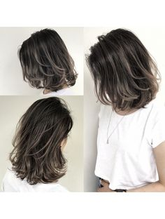 Ideas Hair Color Ideas For Brunettes Short Medium Haircuts For 2019 Brown Hair Balayage, Brown Blonde Hair, Hair Color For Black Hair, Hair Color Balayage, Blonde Balayage, Blonde Highlights, Hair Color Ideas For Brunettes Short, Hair Streaks, Color Streaks