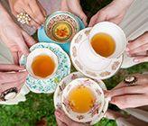 Vintage Tea Party Bridal Shower Ideas