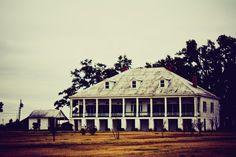 Louisiana River Road Plantation House