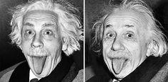 Sandro Miller, Arthur Sasse / Albert Einstein Sticking Out His Tongue (1951), 2014  Portraits of John Malkovich