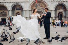 Sesja ślubna w Wenecji Lace Wedding, Wedding Dresses, Venice, Film, Fashion, Fotografia, Bride Dresses, Movie, Moda