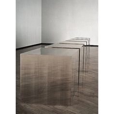"""Donald Judd \ ""Untitled"" (Six Boxes), 1974  #donaldjudd #minimalism #chinati @juddfoundation @chinatifoundation #collecteursmasters #collecteurs"""