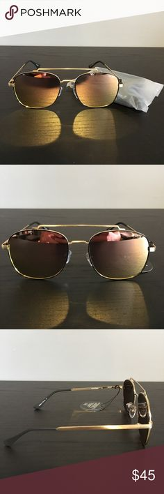 Quay Australia - To Be Seen - GLD/PNK Quay Australia - To Be Seen - GLD/PNK Sunglasses. Brand new, never worn. 100% authentic. Awesome color and style. Comes with original packaging and dust bag. Quay Australia Accessories Sunglasses