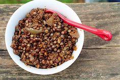 Vegan Moroccan Braised Lentils