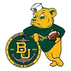 "Some #Baylor fans are already thinking about their plans to ""sailgate"" (tailgate on the river) at #Baylor Stadium in 2014. One worked up this image for the self-named ""Baylor Bearmada."" (via @BaylorBearmada and @effarro on Twitter)"