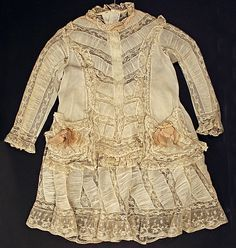 1870 Dress Culture: American Medium: cotton