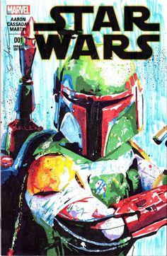 Star Wars - Boba Fett by Sean Anderson
