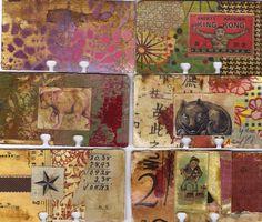 The Rolodex Journal Project & Swap Art Journal Pages, Art Pages, Art Journaling, Junk Journal, Bullet Journal, Old Cards, Rolodex, Art Journal Inspiration, Journal Ideas