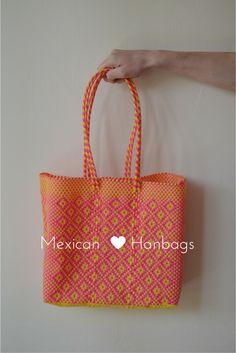 Handbag | Shoulder Bag | Laptop bag  | Ipad Bag | colorful bag | Pink Bag | Mexican bag