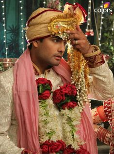 Vivian Dsena our handsome groom!